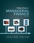 EBK PRINCIPLES OF MANAGERIAL FINANCE - 14th Edition - by ZUTTER - ISBN 8220100666759