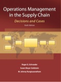 EBK OPERATIONS MANAGEMENT IN THE SUPPLY - 6th Edition - by SCHROEDER - ISBN 8220102805675
