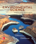 EBK PRINCIPLES OF ENVIRONMENTAL SCIENCE - 8th Edition - by Cunningham - ISBN 8220102806726