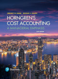 EBK HORNGREN'S COST ACCOUNTING - 16th Edition - by Rajan - ISBN 8220103631723