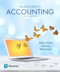 EBK HORNGREN'S ACCOUNTING - 12th Edition - by Matsumura - ISBN 8220103677684