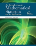 EBK AN INTRODUCTION TO MATHEMATICAL STA - 6th Edition - by Marx - ISBN 8220106711415