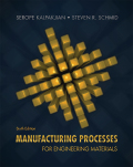 EBK MANUFACTURING PROCESSES FOR ENGINEE - 6th Edition - by Schmid - ISBN 8220106714393