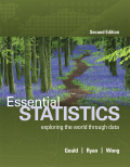 EBK ESSENTIAL STATISTICS - 2nd Edition - by WONG - ISBN 8220106835159