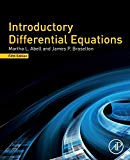 Introductory Differential Equations - 5th Edition - by Abell, Martha L. L. - ISBN 9780128149485