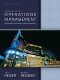 Principles of Operations Management - 9th Edition - by RENDER - ISBN 9780133148794