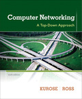 EBK COMPUTER NETWORKING - 6th Edition - by KUROSE - ISBN 9780133464641