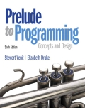 Prelude to Programming - 6th Edition - by VENIT,  Stewart - ISBN 9780133750423