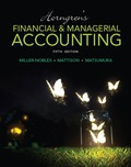 Horngren's Financial & Managerial Accounting - 5th Edition - by Matsumura - ISBN 9780133851281