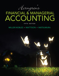 Horngren's Financial & Managerial Accounting  The Financial Chapters (Book & Access Card) - 5th Edition - by MILLER-NOBLES - ISBN 9780133868319