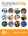 Economics Today: The Micro View (18th Edition) - 18th Edition - by Miller - ISBN 9780133916584