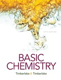 Basic Chemistry (5th Edition) - 5th Edition - by Timberlake - ISBN 9780134183749