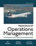 Principles of Operations Management: Sustainability and Supply Chain Management (10th Edition) - 10th Edition - by HEIZER - ISBN 9780134183978