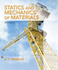 Statics and Mechanics of Materials (5th Edition) - 5th Edition - by HIBBELER - ISBN 9780134382869