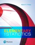 Elementary Statistics (13th Edition) - 13th Edition - by Triola - ISBN 9780134464244