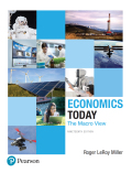 Economics Today: The Macro View (19th Edition) (Pearson Series in Economics) - 19th Edition - by Miller - ISBN 9780134478869
