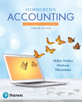 EBK HORNGREN'S ACCOUNTING, THE FINANCIA - 12th Edition - by Matsumura - ISBN 9780134490496