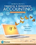 Horngren's Financial & Managerial Accounting  The Financial Chapters (6th Edition) - 6th Edition - by MILLER-NOBLES - ISBN 9780134491790