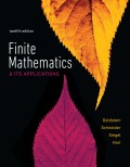 Finite Mathematics & Its Applications (12th Edition) - 12th Edition - by Goldstein - ISBN 9780134507125