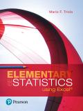 EBK ELEMENTARY STATISTICS USING EXCEL - 6th Edition - by Triola - ISBN 9780134507439