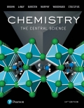 EBK CHEMISTRY:CENTRAL SCIENCE - 14th Edition - by Brown - ISBN 9780134554570