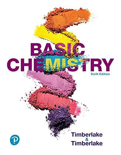 Basic Chemistry Plus Mastering Chemistry With Pearson Etext -- Access Card Package (6th Edition) - 6th Edition - by Karen C. Timberlake - ISBN 9780134983783