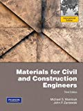 Materials for Civil and Construction Engineers - International ed of 3rd revised ed Edition - by MAMLOUK, Michael, ZANIEWSKI, John - ISBN 9780138009564
