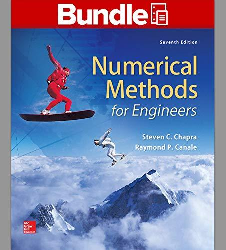 Package: Loose Leaf For Numerical Methods For Engineers With 1 Semester Connect Access Card - 7th Edition - by Steven C. Chapra Dr., Raymond P. Canale - ISBN 9781259289163