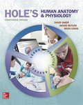 EBK HOLE'S HUMAN ANATOMY+PHYSIOLOGY - 14th Edition - by SHIER - ISBN 9781259305238