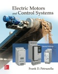 EBK ELECTRIC MOTORS AND CONTROL SYSTEMS - 2nd Edition - by Petruzella - ISBN 9781259335143