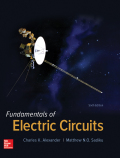 Fundamentals of Electric Circuits - 6th Edition - by Alexander - ISBN 9781259663918