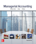 EBK MANAGERIAL ACCOUNTING - 3rd Edition - by Whitecotton - ISBN 9781259738586