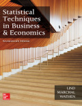 EBK STATISTICAL TECHNIQUES IN BUSINESS - 17th Edition - by Lind - ISBN 9781259924163