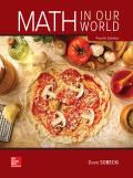 MATH IN OUR WORLD (LOOSELEAF)-W/ACCESS - 3rd Edition - by sobecki - ISBN 9781260389883