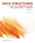 EBK DATA STRUCTURES AND ALGORITHMS IN C - 4th Edition - by DROZDEK - ISBN 9781285415017