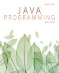 EBK JAVA PROGRAMMING - 8th Edition - by FARRELL - ISBN 9781305480537