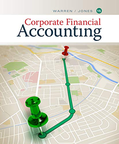 Corporate Financial Accounting 14th Edition Textbook