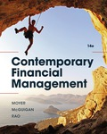 EBK CONTEMPORARY FINANCIAL MANAGEMENT - 14th Edition - by MOYER - ISBN 9781337514835