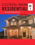 EBK ELECTRICAL WIRING RESIDENTIAL - 19th Edition - by Simmons - ISBN 9781337516549